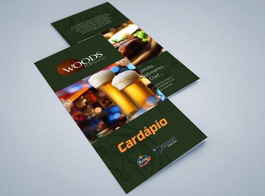 Cardápio Woods Pub