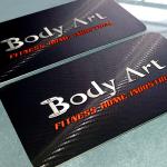 Cartão de visita BODY ART