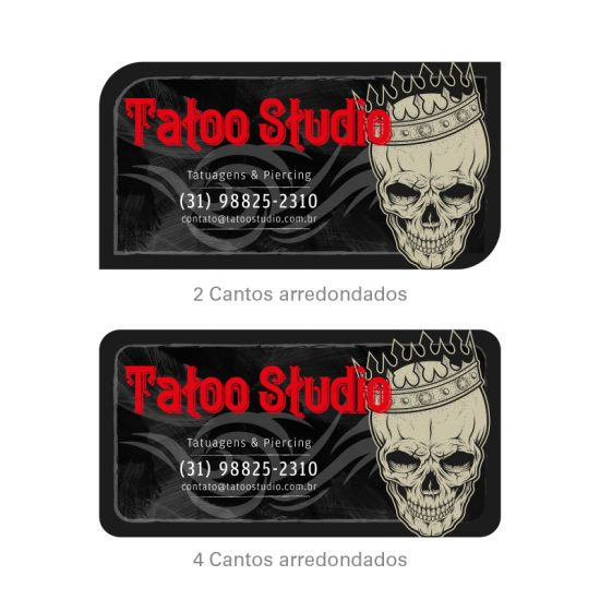 Cartão de Visita Tatuagem