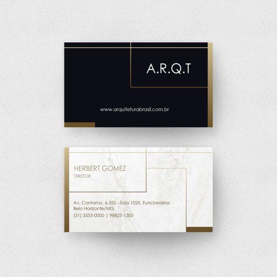 Cartão de Visita Escritório de Arquitetura