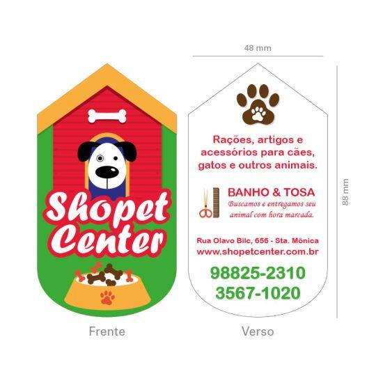 Cartão de Visita Petshop Veterinária