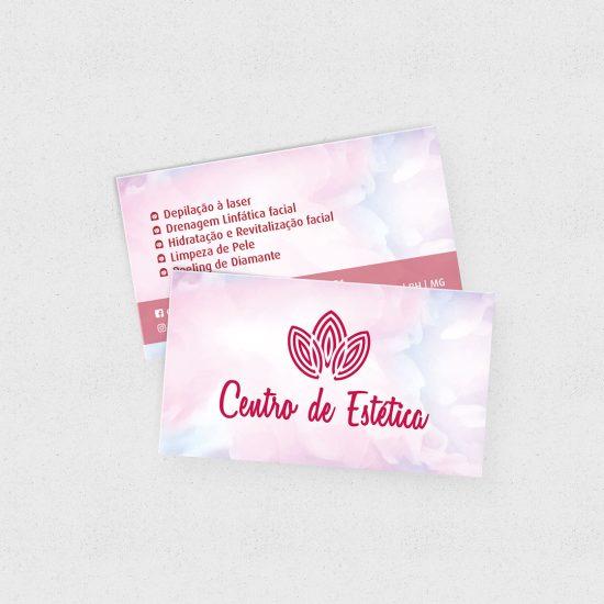 Cartão de Visita Centro de Estética