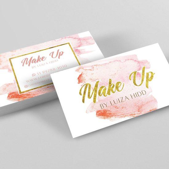 Cartão de visita Make Up