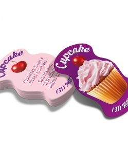 Cartão de Visita Cupcake