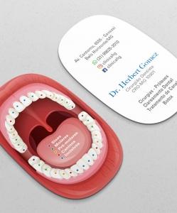 Cartão de Visita Odontologia