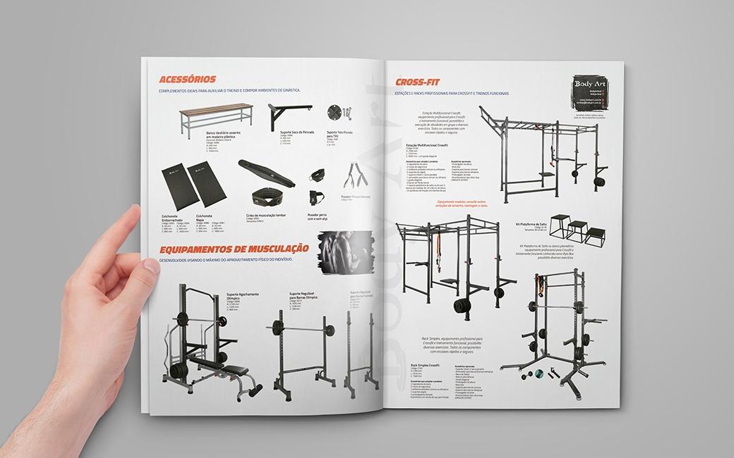 Catálogo de Produtos Body Art