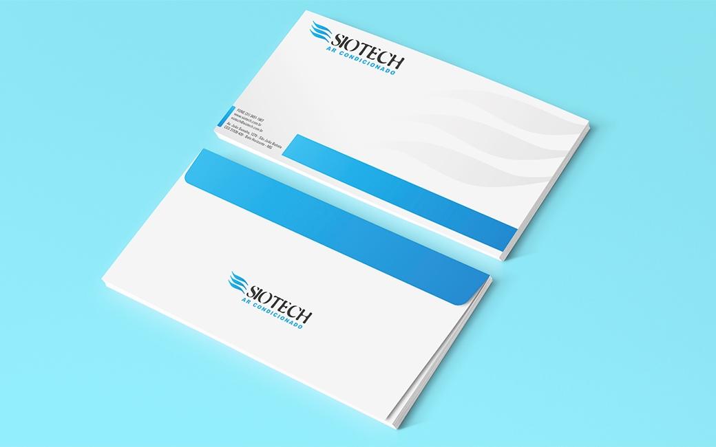 Envelope Siotech Ar Conicionado