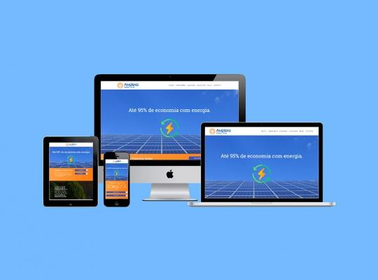 Website Amplexo Energia Solar
