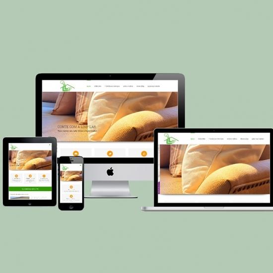 Website Limplar Limpeza de Estofados