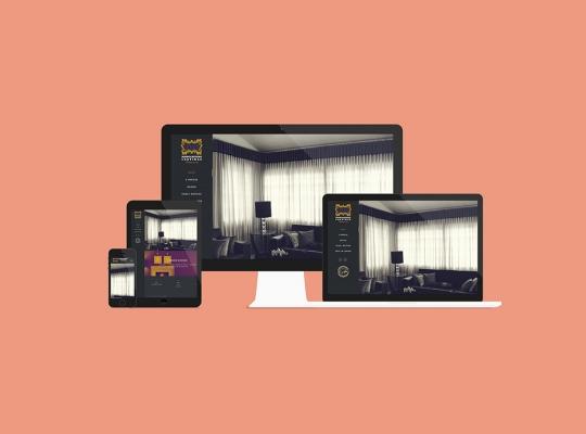 Website Mangabeiras Cortinas
